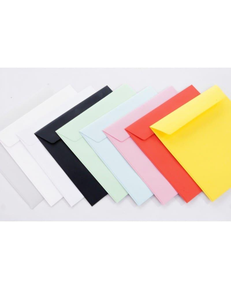 Koperty gładkie białe i kolorowe KW 156x156mm