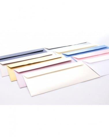 Koperty  metalizowane i perłowe DL 110x220mm